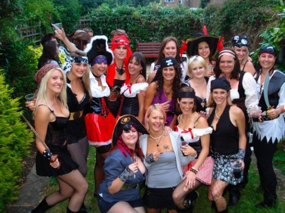The Dirty Pirate Hooker Party