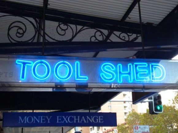 The Tool Shed is not a hardware shop, it's a gay sex shop