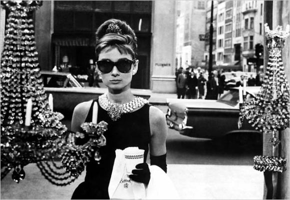 """And I said, """"what about Breakfast At Tiffany's?"""" She said, """"I think I remember the film and if I recall I think we both kinda liked it."""""""