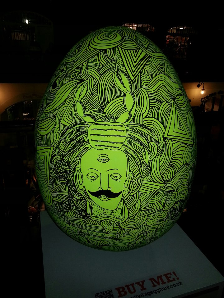 COSMIC EGG by Robert Rubbish
