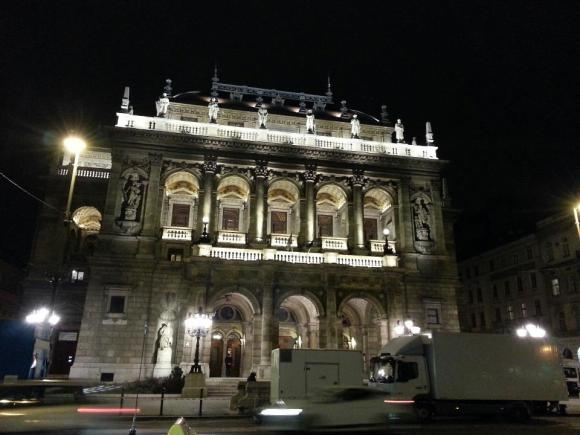 The Opera House by night
