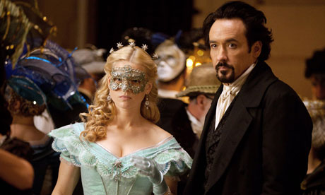 """Poe: """"Is this a costume ball?"""" Emily: """"No I'm just embarrassed to be seen with you."""""""
