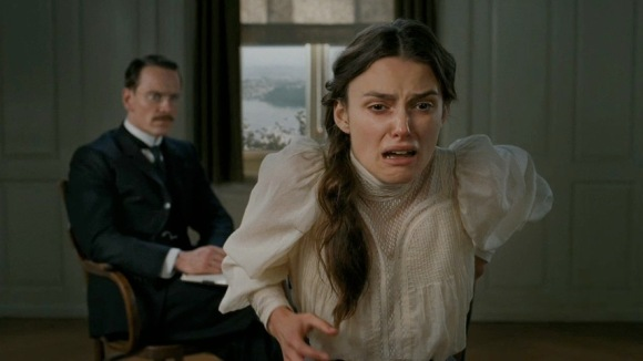 Keira had just found out she'd won a date with Nigel Farage