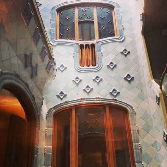 The light well at Casa Batllo