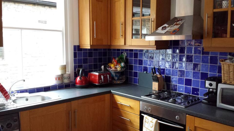 Great big separate kitchen!
