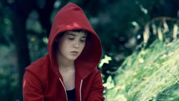 Little Red sulking in the hood