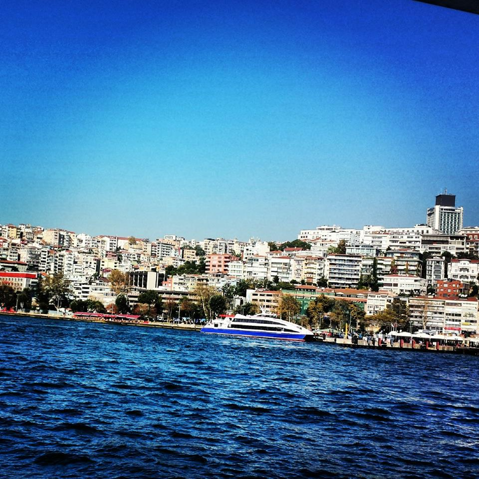 A great view of Istanbul from the boat to The Islands