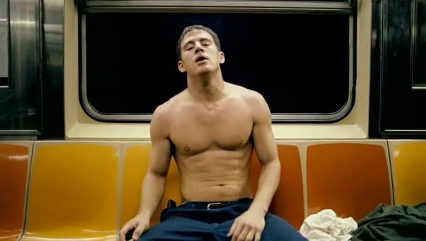 Oh yeah! There's nothing quite like being topless on the subway.