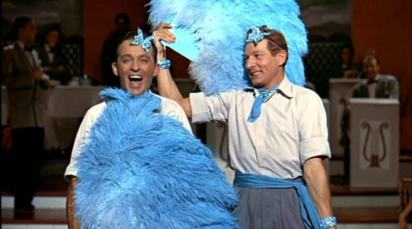 I do declare, Phil, blue really is your colour!