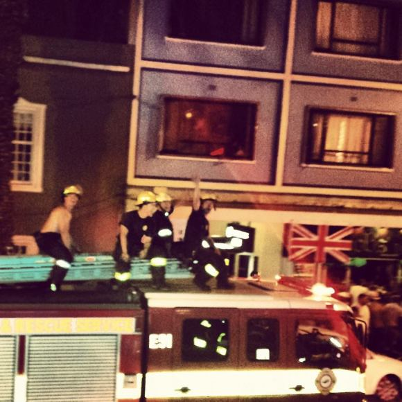 Watch some real life actual firemen go topless down Long Street on a fire engine as part of the Cape Town Carnival