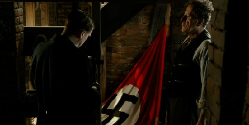 We call this the Fuhrer corner, it;s the highlight of every basement