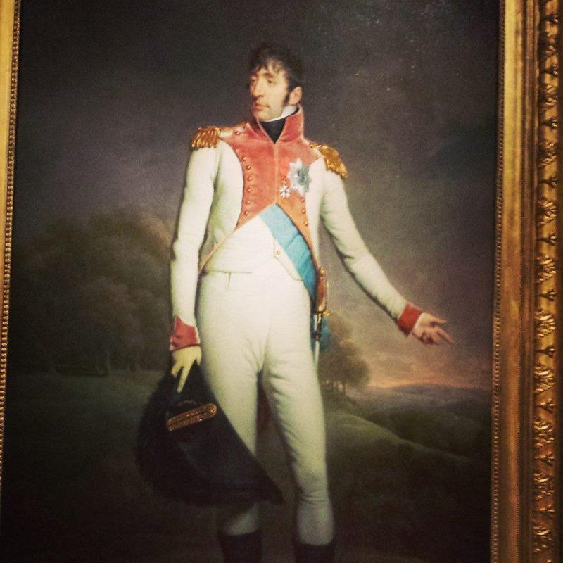 Behold Napoleon's camel toe