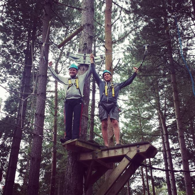Tree warriors!