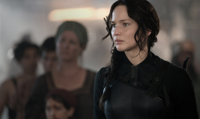 Katniss was more than ready to shoot the shit out of President Snow