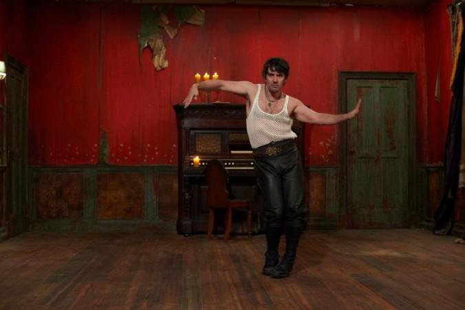 Deacon;s erotic dance made Edward Cullen look like an amateur