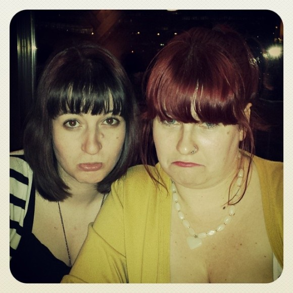 In January my bestie, Jen, had to leave London because of stupid immigration. I was very sad!