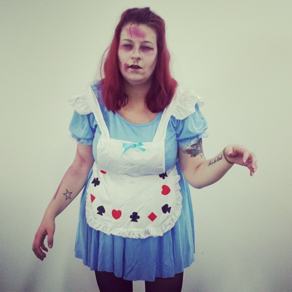 I was dead Alice for Halloween