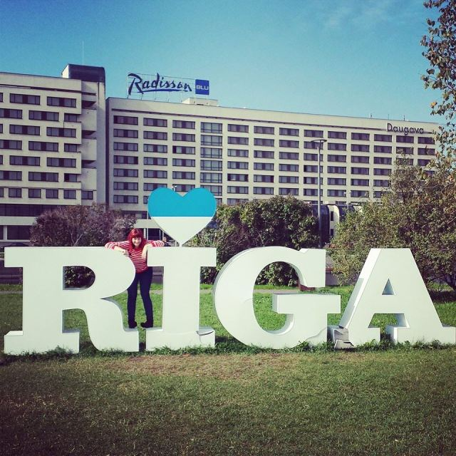 Mr O and I spent three days in beautiful Riga to celebrate out third wedding anniversary