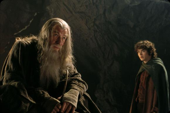 Look, Frodo, if someone comes at you with a weapon can you at least try to get out of the way