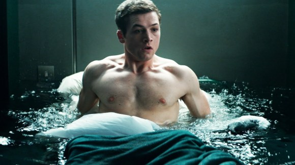Eggsy's wet dreams were getting a little out of control