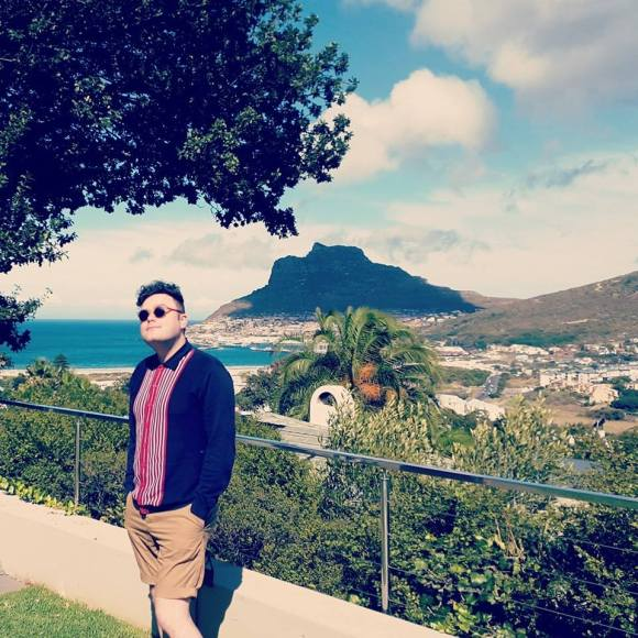 We stayed with my friend, Barb and her family in their beautiful house in Hout Bay and Mr O and I much enjoyed the view