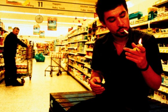Remember the good old days when you could smoke in the supermarket?