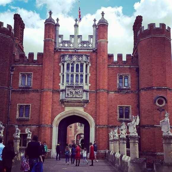 We checked out Henry VII's apartments