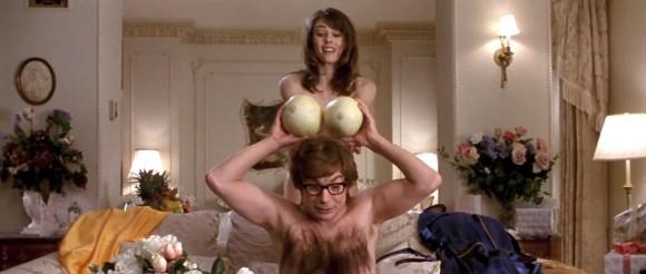 Vanessa had a cracking set of melons