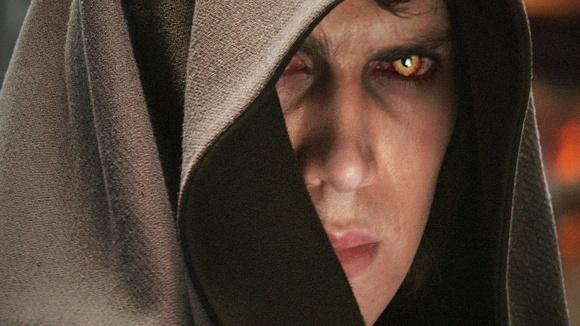 Anakin regretting sleeping on that pillow Obi-Wan had farted on