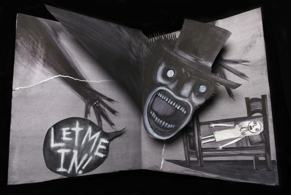 The Babadook was quite keen to come in. He had heard they had donuts.