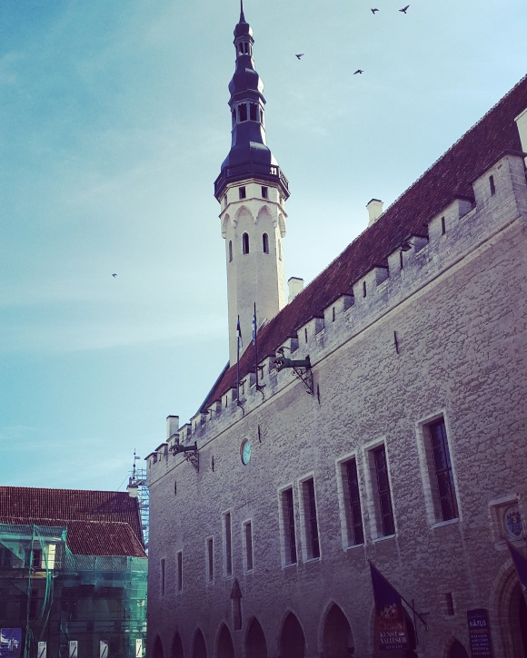 Tallinn Town Hall - guarded by dragons