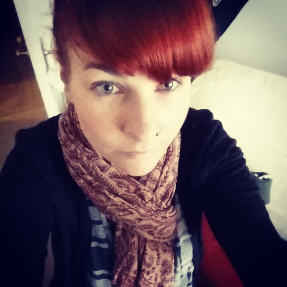 I am still struggling with being cold all the time. This is why I now wear a scarf in the office.